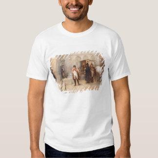 Napoleon after Waterloo (oil on canvas) Tee Shirts