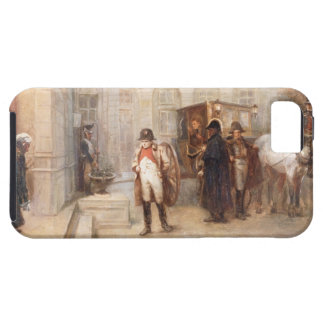 Napoleon after Waterloo (oil on canvas) Tough iPhone 5 Case