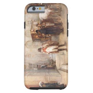 Napoleon after Waterloo (oil on canvas) Tough iPhone 6 Case