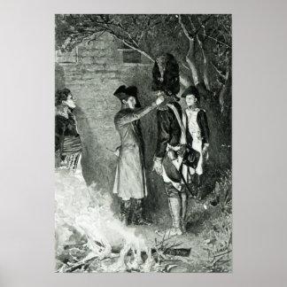 Napoleon and Coignet Poster