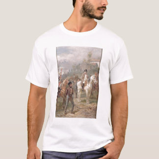 Napoleon and his Troops (oil on panel) (pair of 12 T-Shirt