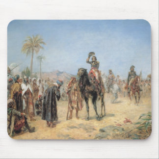 Napoleon Arriving at an Egyptian Oasis (oil on can Mouse Mat