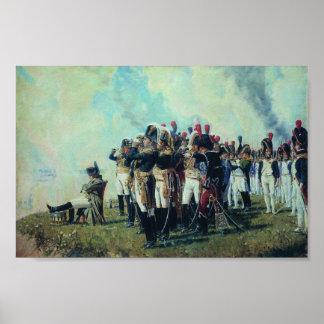 Napoleon at Borodino Posters