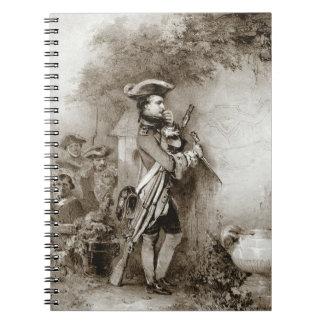 Napoleon Bonaparte 1826 Spiral Notebook