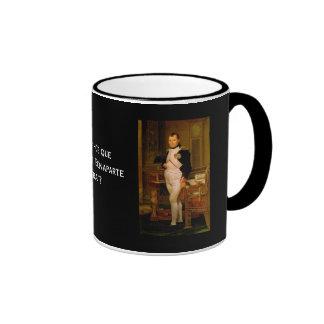 Napoleon Bonaparte 2 Ringer Coffee Mug