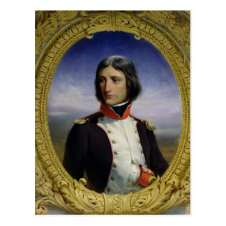 Napoleon Bonaparte  as Lieutenant Colonel Postcard
