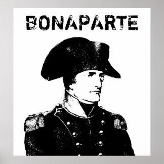 Napoleon Bonaparte -- Black and White Print