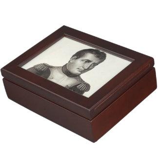 Napoleon Bonaparte Elegant Antique Engraving Memory Boxes