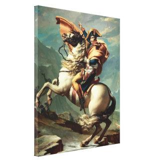 Napoleon Bonaparte on Horseback Canvas Print