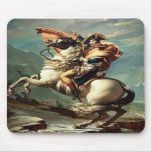 Napoleon Bonaparte on Horseback Mousepad
