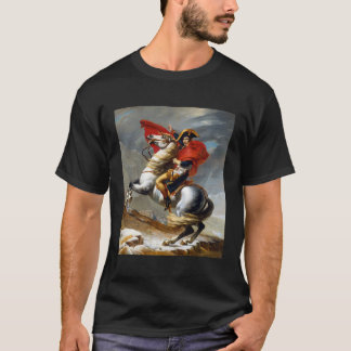 Napoleon Bonaparte Painting by Jacques-Louis David T-Shirt