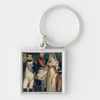 Napoleon Bonaparte  Receiving Queen Louisa Key Ring