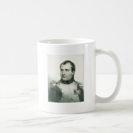 Napoleon Bonaparte with Quote.. Coffee Mug