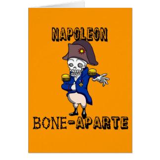 Napoleon Bone-aparte Note Card