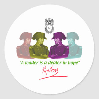 Napoleon Classic Round Sticker