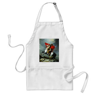 Napoleon Crossing the Alps Aprons