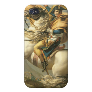 Napoleon  Crossing the Alps at the St Bernard iPhone 4/4S Covers