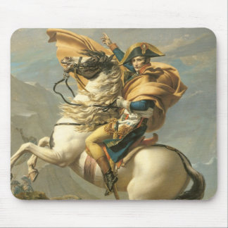 Napoleon  Crossing the Alps at the St Bernard Mouse Pad