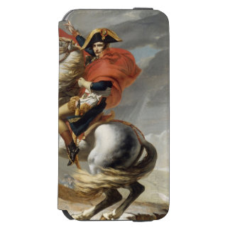 Napoleon Crossing the Alps by Jacques Louis David Incipio Watson™ iPhone 6 Wallet Case