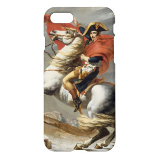 Napoleon Crossing the Alps by Jacques Louis David iPhone 7 Case