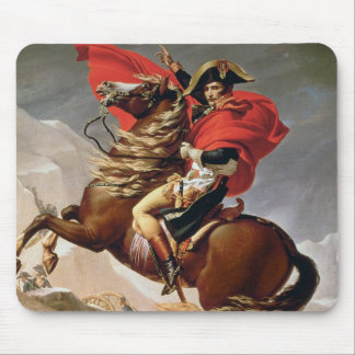 Napoleon Crossing the Alps, c.1800 (oil on canvas) Mouse Mat