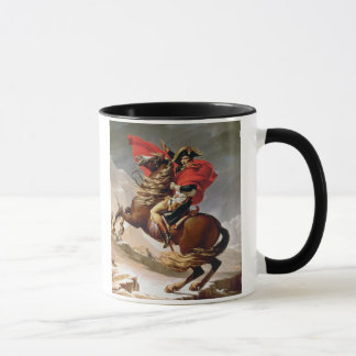 Napoleon Crossing the Alps, c.1800 (oil on canvas) Mug