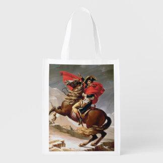 Napoleon Crossing the Alps, c.1800 (oil on canvas)