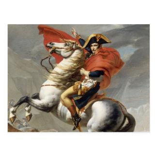 Napoleon Crossing the Alps - Jacques-Louis David Postcard