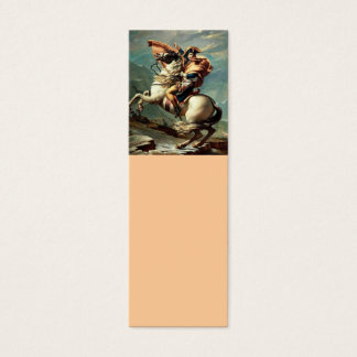 Napoleon Crossing the Alps Mini Business Card