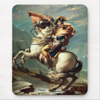 Napoleon Crossing the Alps Mouse Mat