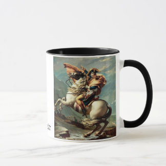 Napoleon Crossing the Alps Mug