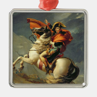 Napoleon Crossing the Alps on 20th May 1800 Christmas Ornament