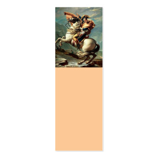 Napoleon Crossing the Alps Pack Of Skinny Business Cards
