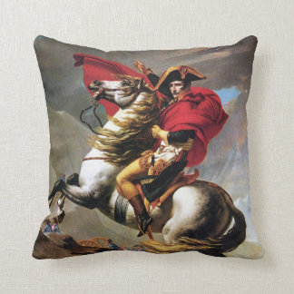 Napoleon Crossing the Alps Pillow