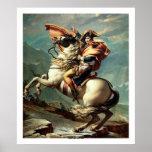 Napoleon Crossing the Alps Poster