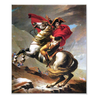 Napoleon Crossing the Alps Print