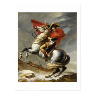 Napoleon Crossing the Grand Saint-Bernard Pass Postcard