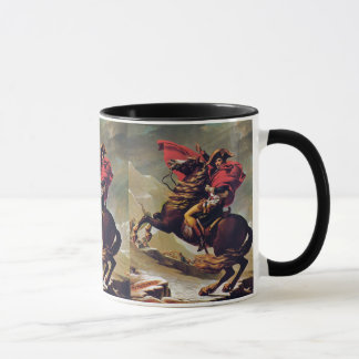 Napoleon Crossing the Saint Bernard Mug