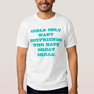 Napoleon Dynomite: Skills Tee Shirt