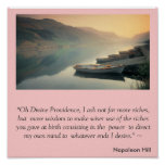 Napoleon Hill Magic Prayer Poster