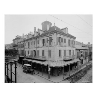 Napoleon House, New Orleans, Louisiana: ca. 1900 Poster