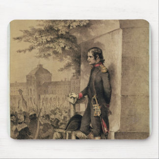 Napoleon I at the Siege of the Tuileries Mouse Mat