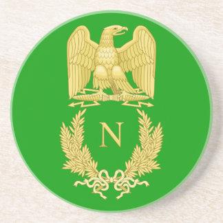 Napoleon I Famous Eagle Emblem Coaster