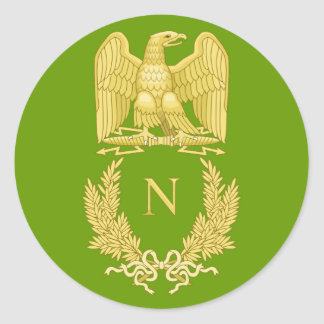 Napoleon I Imperial Eagle Emblem on sticker