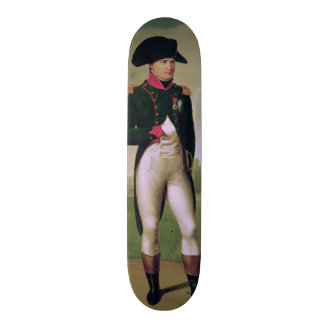 Napoleon I  in Front of the Chateau de Malmaison Custom Skate Board