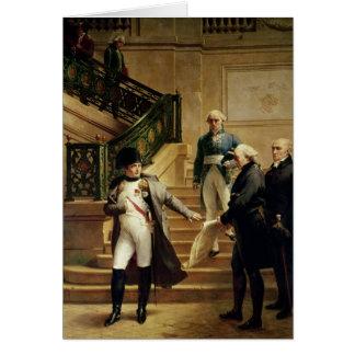 Napoleon I in the Palais Royal Card