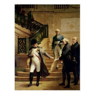 Napoleon I in the Palais Royal Postcard