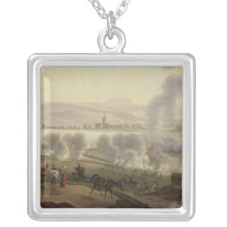 Napoleon I in Wagram in 1809 Silver Plated Necklace