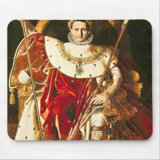 Napoleon I  on the Imperial Throne, 1806 Mouse Mat