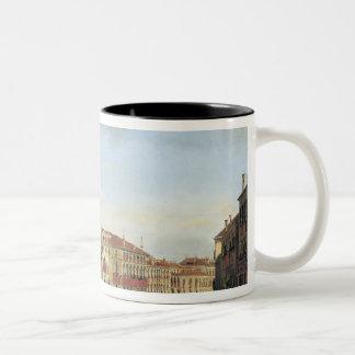 Napoleon I  Presiding over a Regatta in Venice Two-Tone Mug